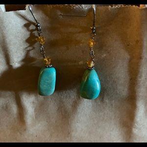 Silpada Turquoise Earrings